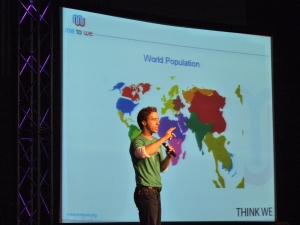 Craig Kielburger Speaks at the Global Youth Assembly
